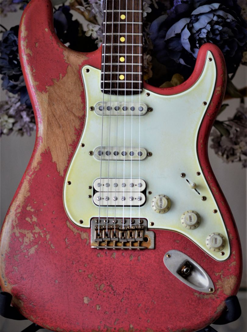 Fiesta Red-Fender-Stratocaster-Heavy Relic
