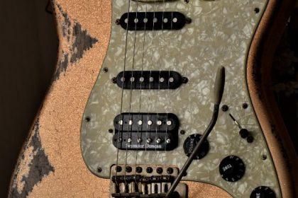Fender Stratocaster Relic Custom Orange Sparkle