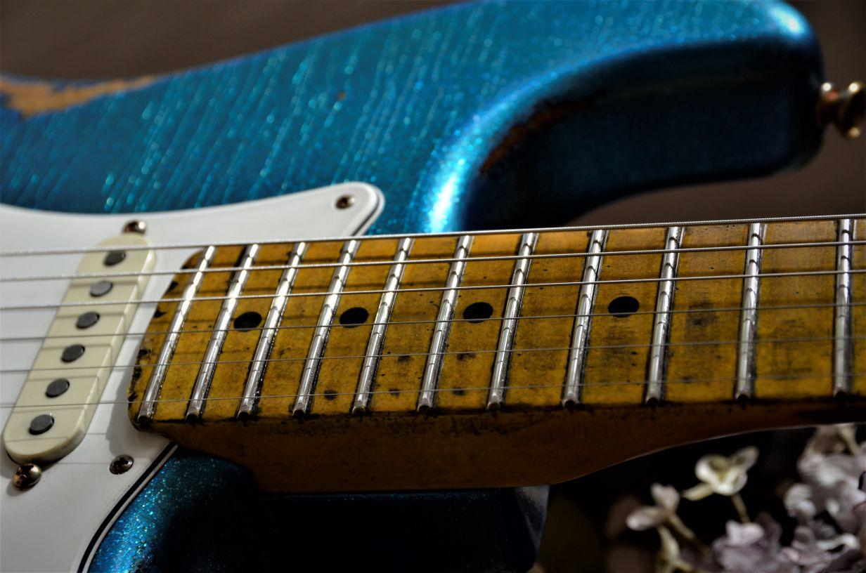 Fender Neck Finger Wear
