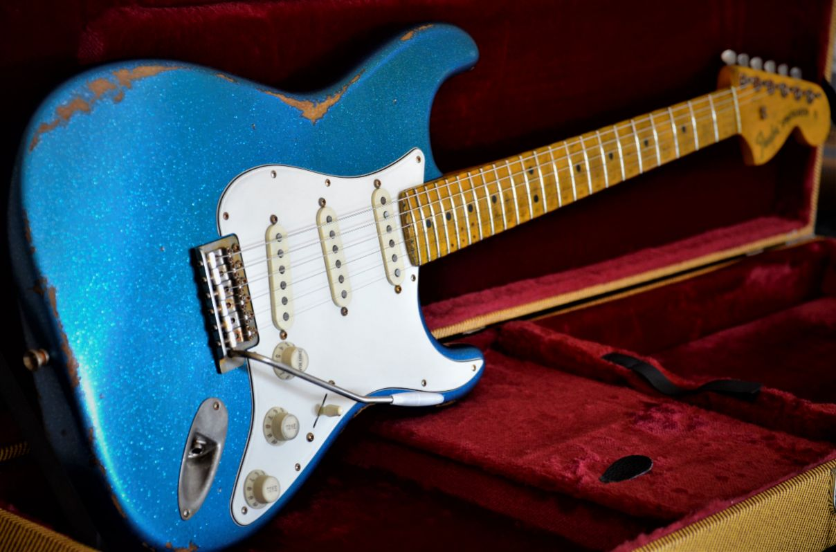 Custom Sparkle Stratocaster