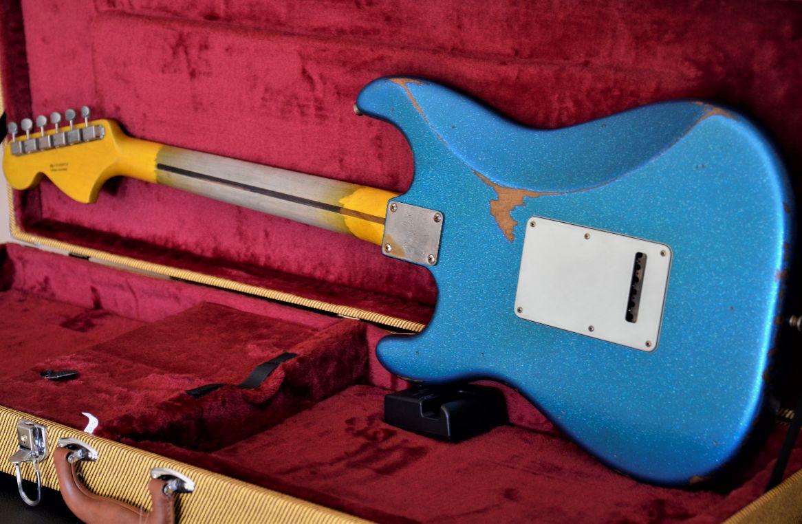 Sparkle Custom Strat Guitar