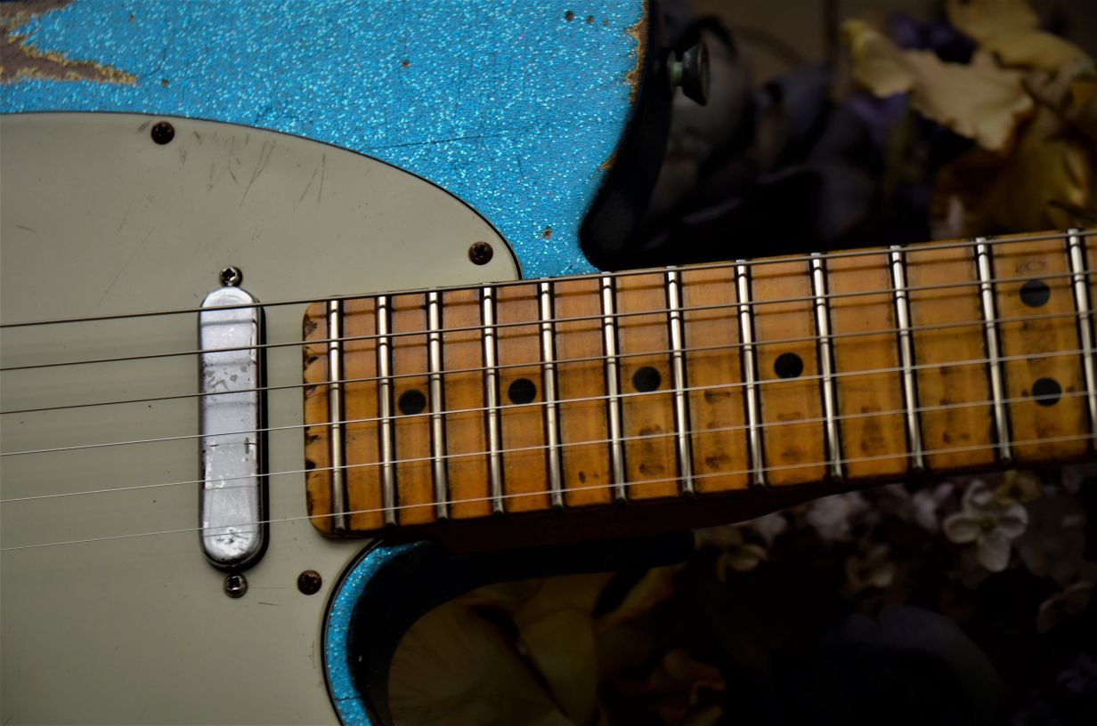 Relic Aged Fender Telecaster Sparkle