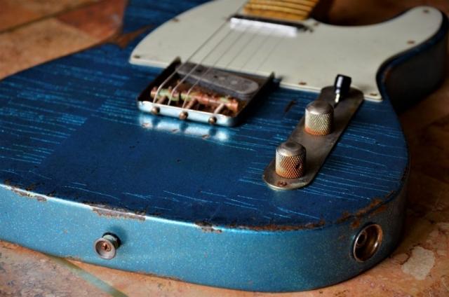 Vintage Blue Sparkle Fender Telecaster