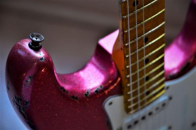 Vintage Fender Strat Metallic