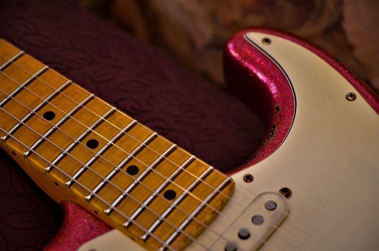 Fender Strat Metallic Sparkle
