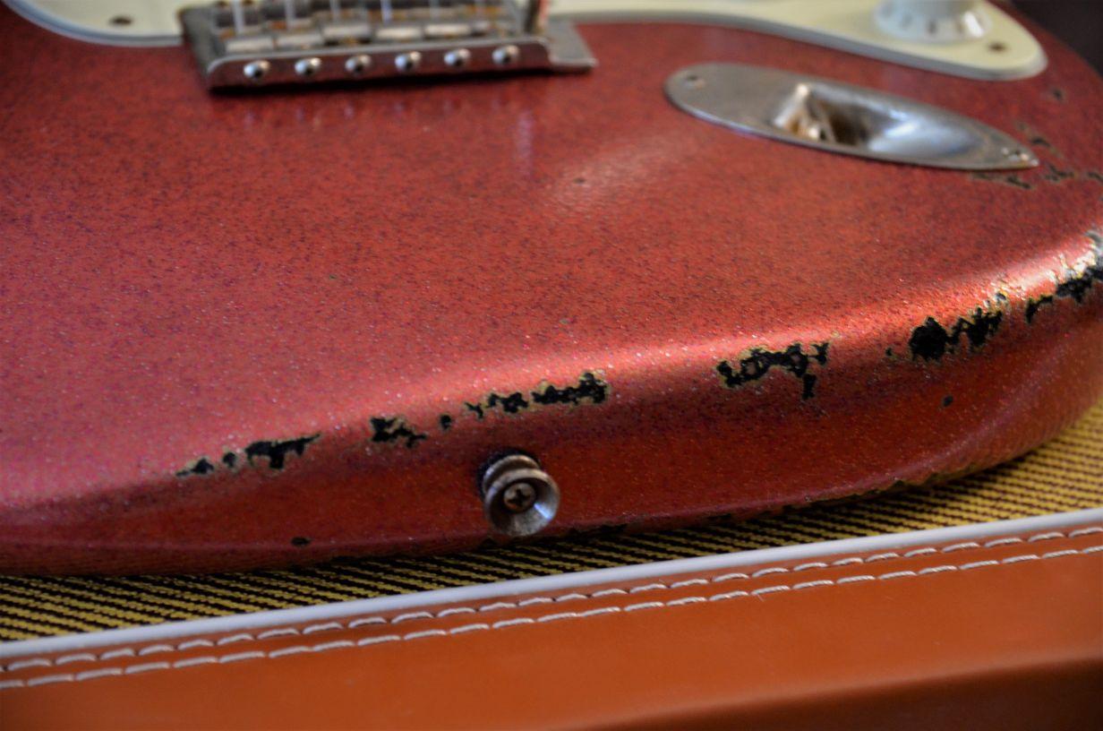 Bottom Guitar Wear Fender Stratocaster Relic