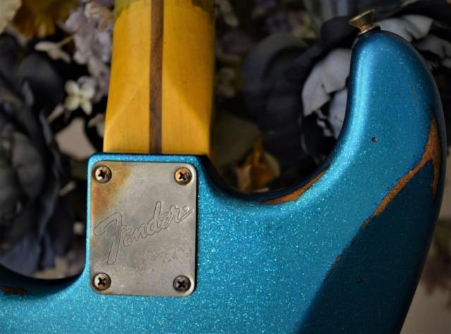 Fender Neck Plate Aged