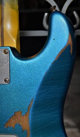 Relic Fender Strat Back