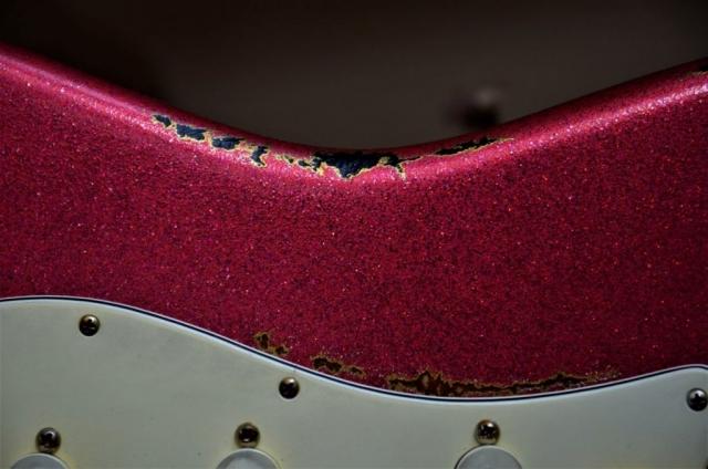 Red Stratocaster Sparkle Fender