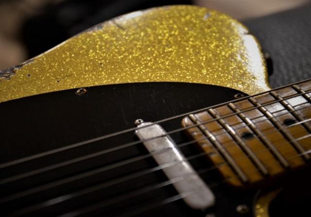 Gold Sparkle Telecaster