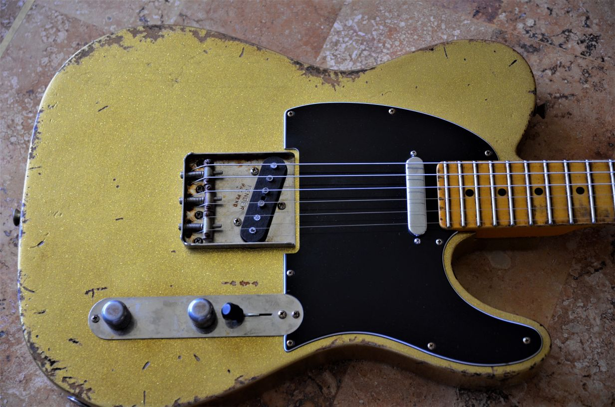Fender Custom Sparkle Tele