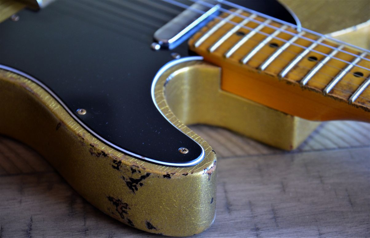 Fender Custom Gold Sparkle Telecaster
