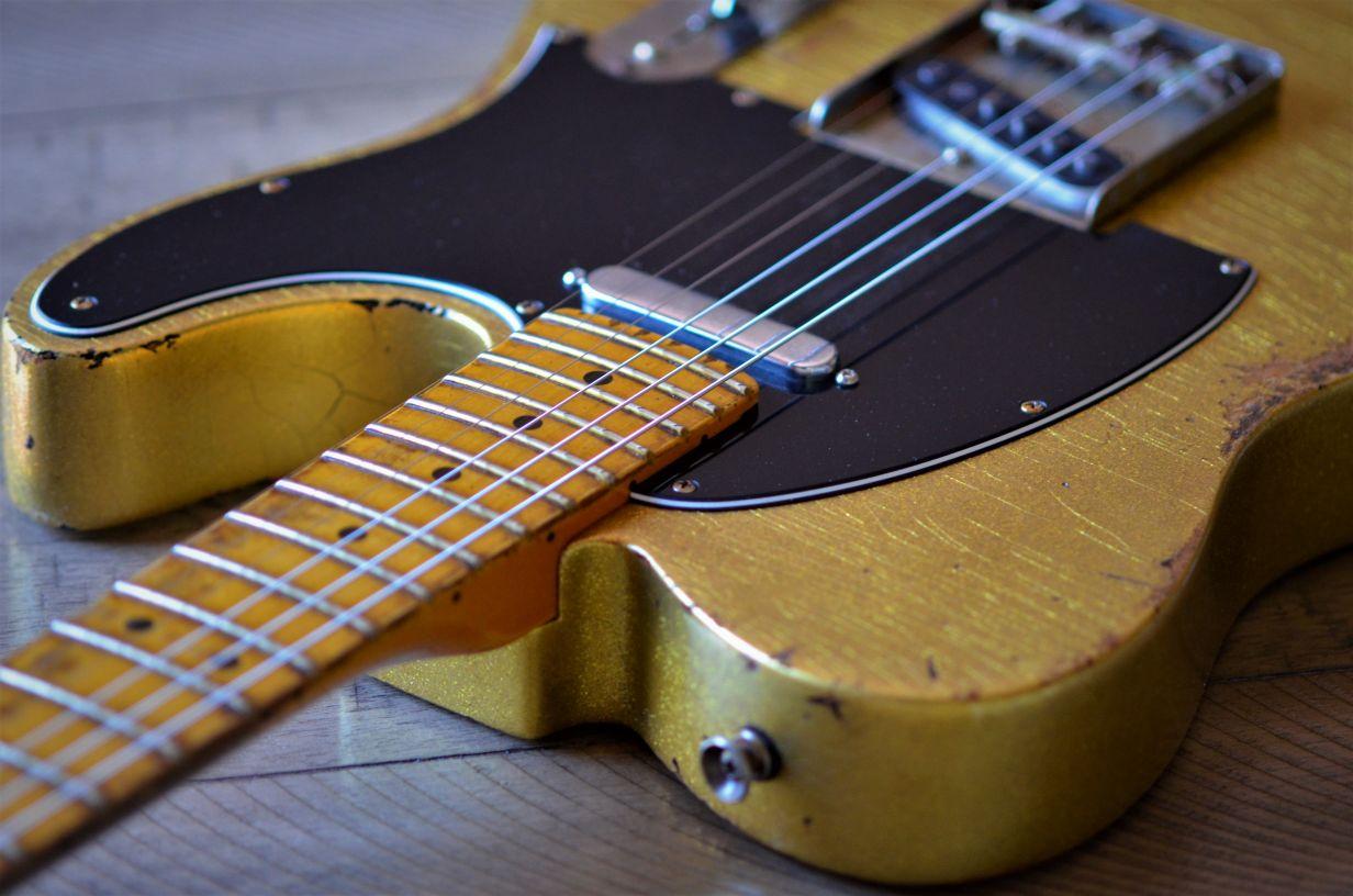 Vintage Sparkle Fender Tele