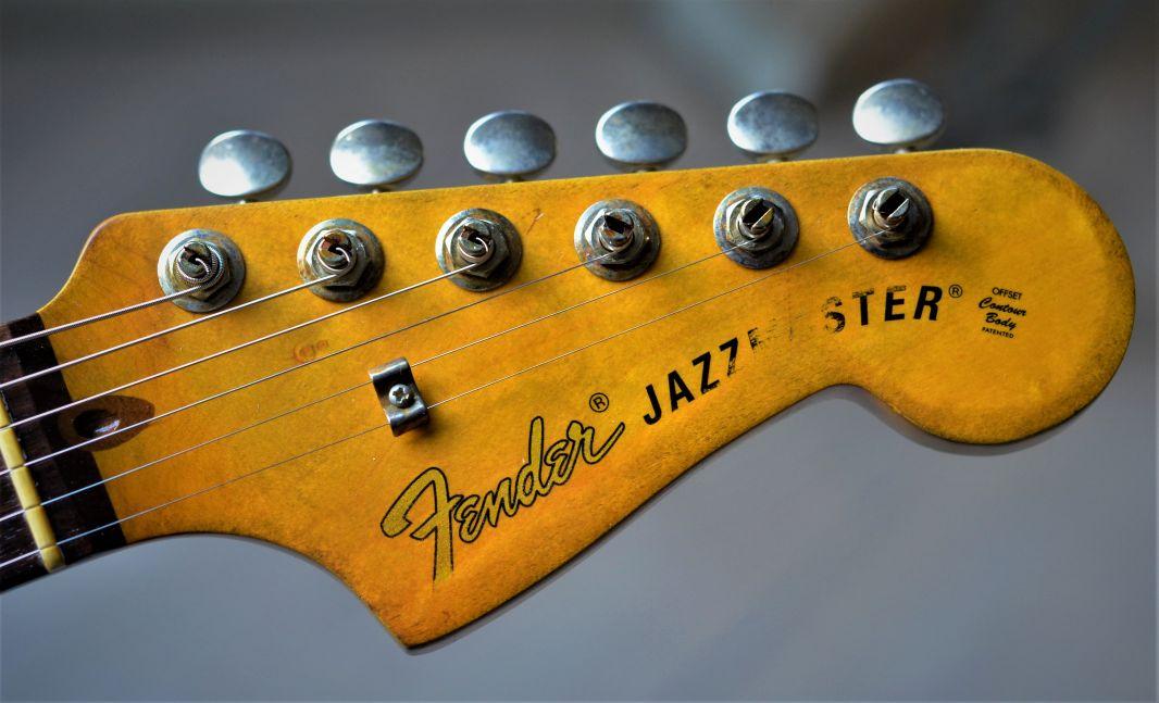 Vintage Fender Jazzmaster Headstock Logo