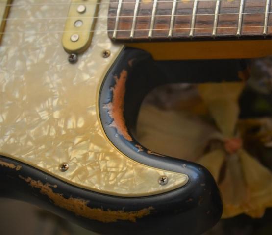 Black Stratocaster Relic