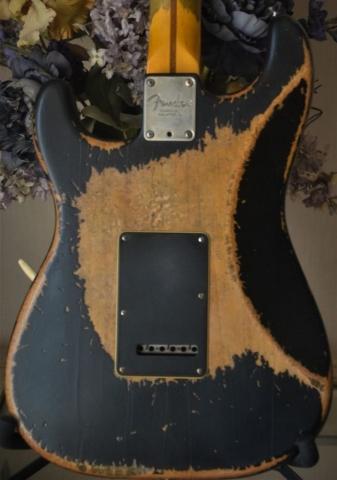 Fender Stratocaster Heavy Relic Back