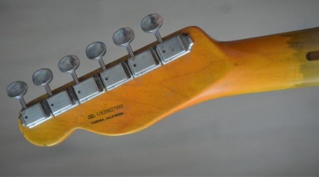 Tele Headstock Rear