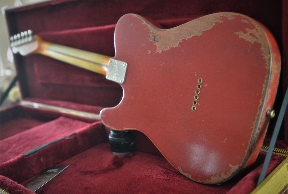 Vintage Aged Fender Tele Rear