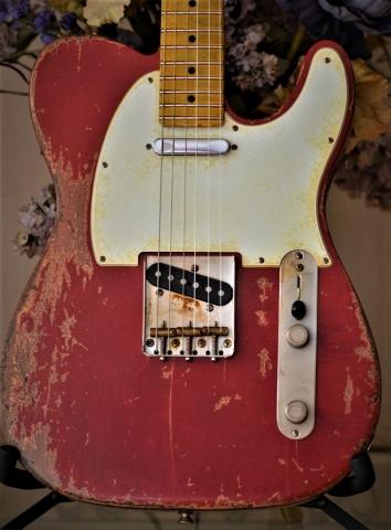 Fender Telecaster Custom Heavy Relic Red