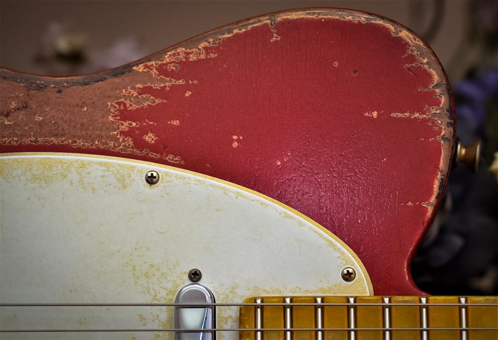Fender Red Telecaster Relic