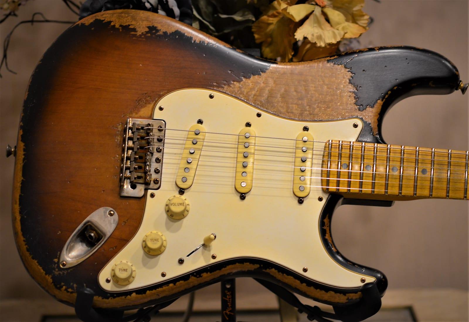 Stratocaster Sunburst Heavy Relic
