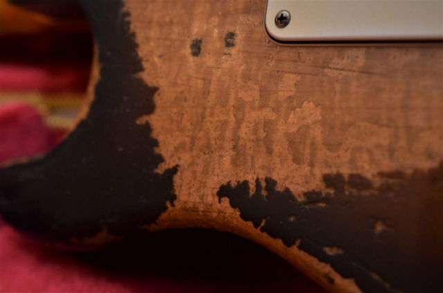 Stratocaster Relic Figuring