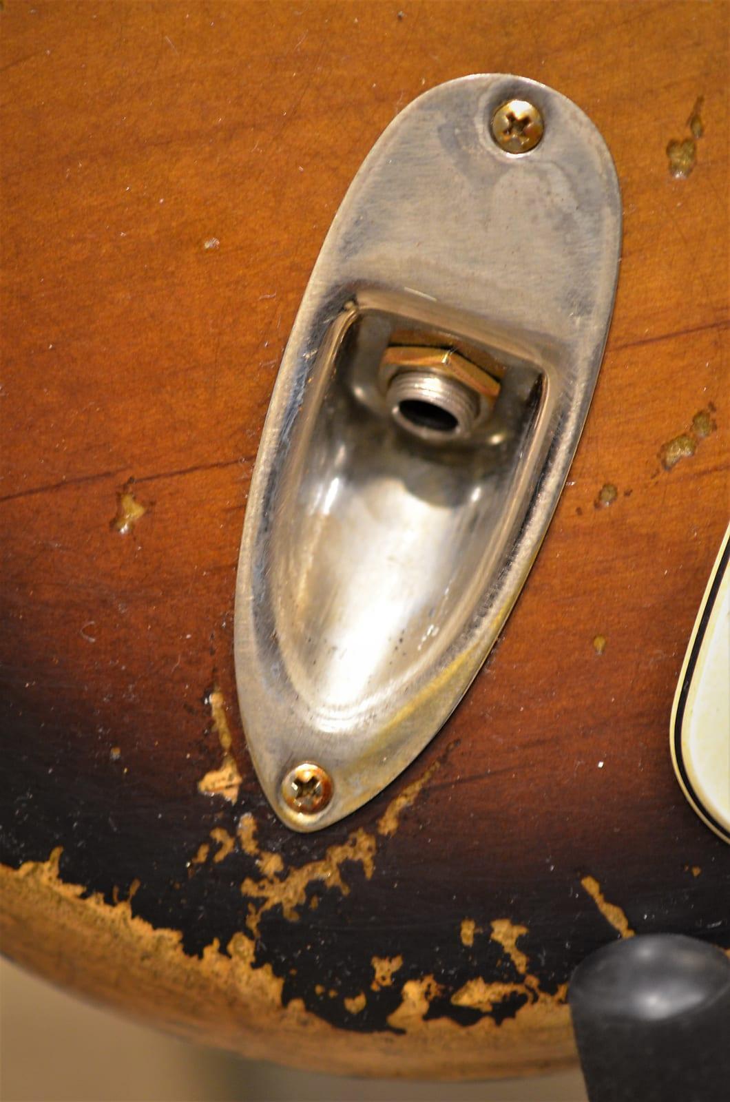 Strat Relic Jack Plate