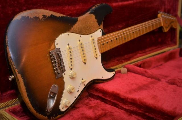Fender Sunburst Stratocaster Heavy Relic
