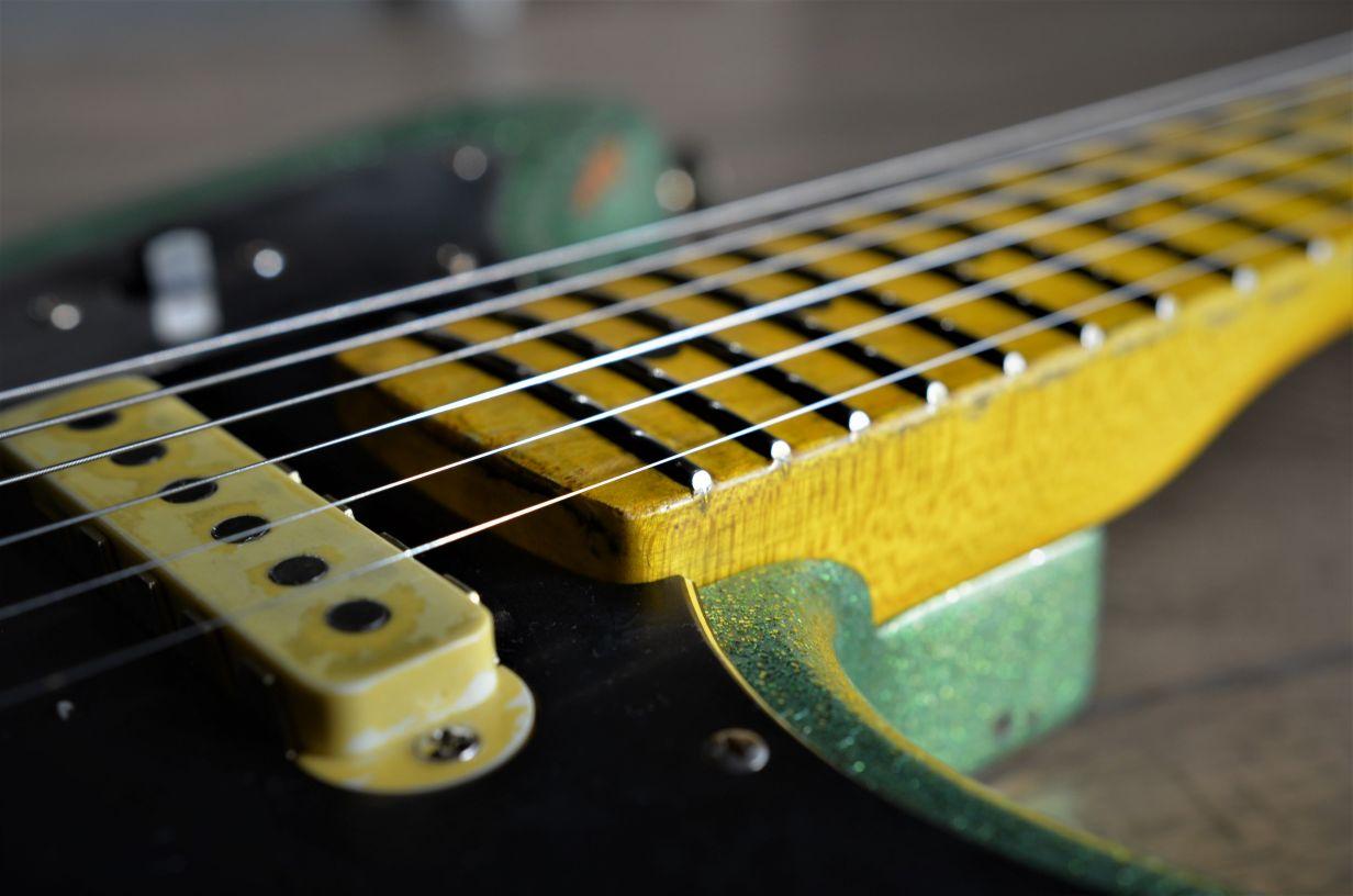 Fender Maple Relic Neck Jaguar Guitar