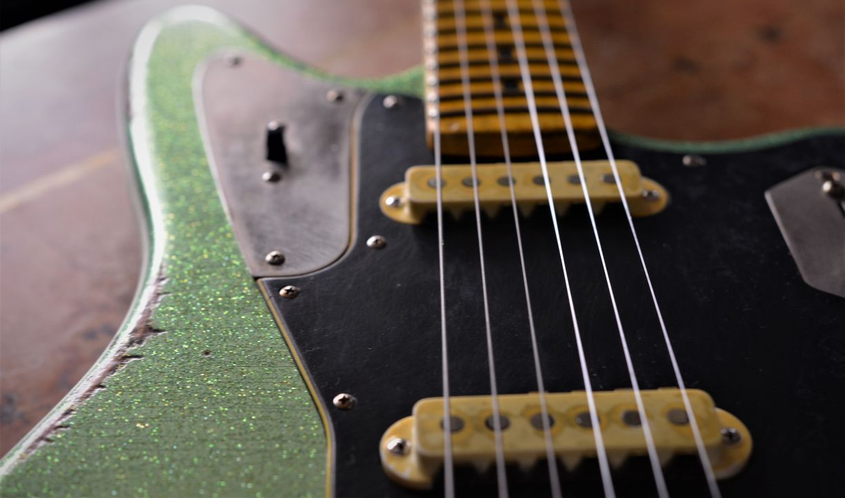 Offset Fender Jaguar Custom Guitar