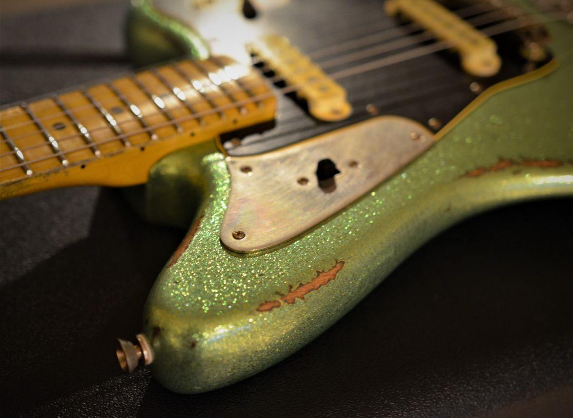Custom Jaguar Fender Sparkle