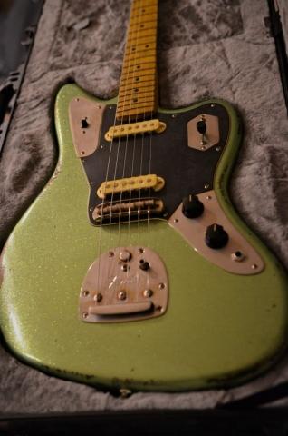 Aged Fender Jaguar Relic Guitar
