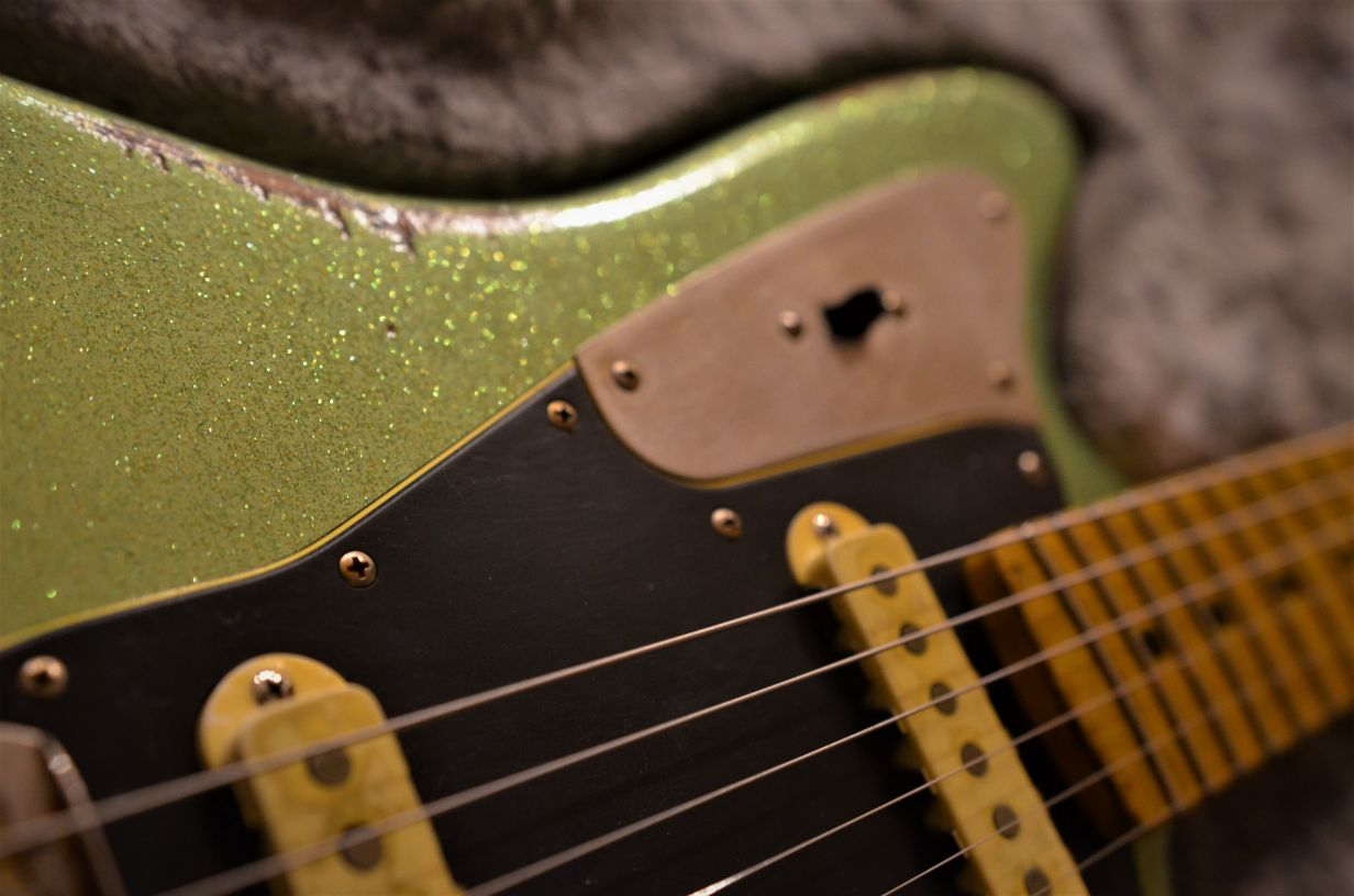 Sparkle Custom Fender Jaguar  Guitar